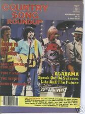 Alabama Covers Country Song Roundup November 1985 Tom T Hall