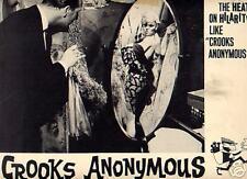 Lobby Card 1962 CROOKS ANONYMOUS voyeur cross-dress
