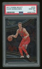 2017-18 Lauri Markkanen PSA 10 Panini Select Courtside SP Rookie Rc #233 *NICE*