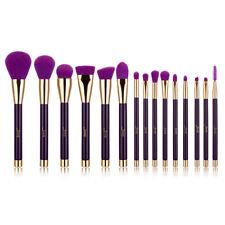 Jessup 15pcs Makeup Brushes Set Eyelash Powder Blush Contour Cosmetic Brush Tool