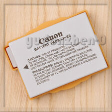 Genuine Canon LP-E8 Li-ion Battery Pack for EOS 550D 600D Kiss X4, Rebel T3i,T2i