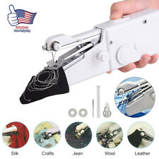 Portable Smart Mini Electric Tailor Stitch Hand-held Sewing Machine Home US 2020