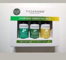 Tisserand Everyday Essential Oils Set 3 X 9ml - Peppermint, Rosemary And Lemon