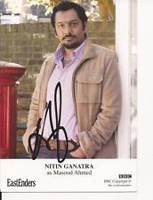 EASTENDERS* NITIN GANATRA 'MASOOD AHMED' SIGNED 6x4 PORTRAIT PHOTO+COA