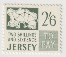 Mint 1969 Jersey - 2'6 Shillings Postage Due Stamp
