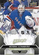 Henrik Lundqvist #70 - 2020-21 MVP - Base Puzzle Back