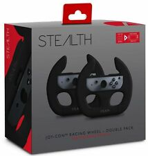 Nintendo Switch Racing Wheel Joy-Con Holders Twin Pack