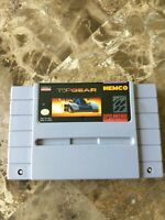 Top Gear- Authentic SNES Super Nintendo free fast shipping tested working