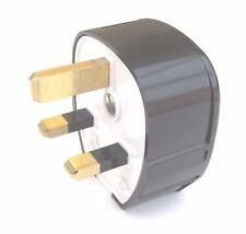 MK Tough-plug 655 Copper UK 13A High Quality & Excellent for hi-fi mains cables