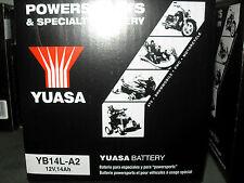 Batteria Yuasa YB14L-A2 YAMAHA XS XJ FZ FZX FZR XJR FJ1000 FJ1200 GENESIS FAZER