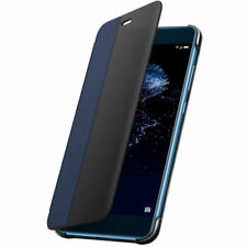 ORIGINALE Huawei p10 LITE FLIP VIEW Custodia SMART COVER Case Custodia protettiva-blu