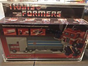 1984 Vintage Bloated Optimus Prime MIB Error Box G1 Transformer SUPER RARE GRAIL