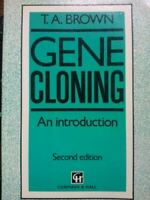Gene Cloning : An Introduction, Brown, Terence A., Very Good, Paperback