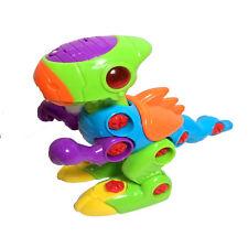 Kids Dinosaur Robot Toy Lights Sounds Boys Girls Toddlers Christmas Gift Game