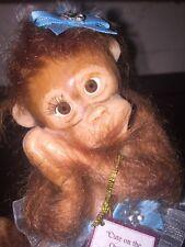 """Ashton Drake """"Cute On The Outside Adorable On The Inside Monkey Figurine"""