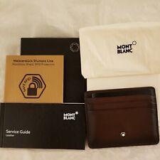 Montblanc Meisterstück Sfumato Burnished Leather Card Case §