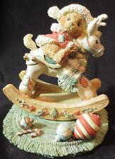 "Cherished Teddies Beth ""Happy Holidays, Deer Friend"" 950807 1992"