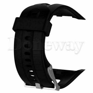 Silicone Men & Women's Watch Band Strap Replacement for Garmin Forerunner 10 15