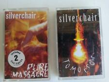 Silver Chair x  2 - Tomorrow, Pure Massacre Cassette Tapes