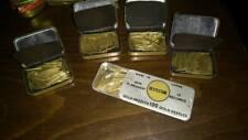 Gold Plated Phonograph GramaPhone Needle Lot RARE