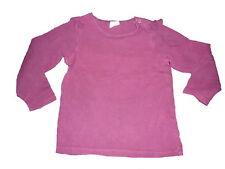 H & M tolles Langarm Shirt Gr. 86 lila !!
