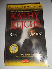 KATHY REICHS Resti umani Ed. Super pocket libro rivista entra e leggi le offerte