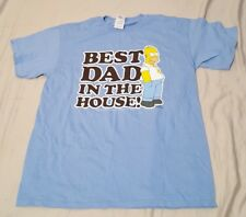 Homer Simpson T-Shirt Best Dad In The House The Simpsons T Shirt