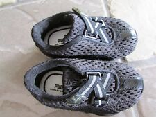 PUMA BLACK  SNEAKER SHOES BABY SHOES ADORABLE! SIZE 4 MINT CONDITION FREE SHIP