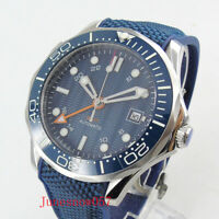 New Sapphire Crystal 41mm Automatic Men's Watch With GMT Function Luminous Bezel