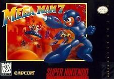 MEGA MAN 7 SNES SUPER NINTENDO GAME COSMETIC WEAR