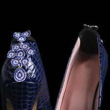 Crystal and Rhinestone Shoe Clips Jewellery for Womens high heel shoes