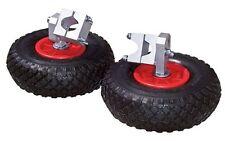 2 Ruedines para carretilla Neumáticos de goma maciza RUEDA Soporte baukarre