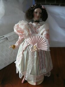 Catherine and the Poetry of the Fan --- A Franklin Heirloom Doll
