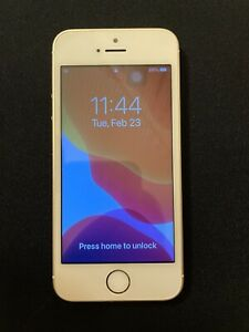 Unlocked Apple iPhone SE 16GB 1st Gen Gold
