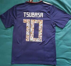 Maillot japon olive et tom num10 Tsubasa jersey size M  NEW/NEUF
