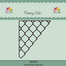 Dixi Crafts Cutting Die WIRE CORNER MD0097 6.1cm x 7.2cm