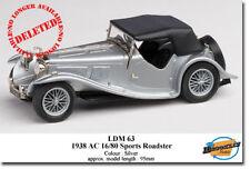 Lansdowne White Metal Diecast Cars