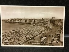 """PS1 VINTAGE 1890/'s photochrom FOTO-CLOCK TOWER Herne Bay-STAMPA A3 17 /""""x12/"""""""