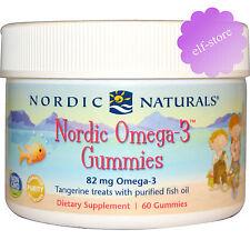 Nordic Naturals Nordic Omega-3 Gummies Tangerine Treats 120 Count