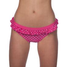 Panache Betty Polka Dot Low Rise Frill Bikini Swimsuit Swim Bottom MRSP $30