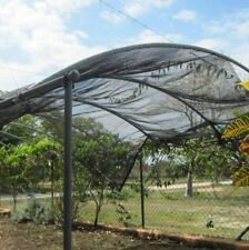 New listing Agfabric 40%Sunblock Shade Cloth Cover with Clipsfor Plants 6.5'X20'Black 10Pack
