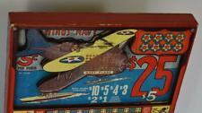 """Vintage """"Wings Of The Navy"""" Die Cut """"3- D"""" Punchboard Unpunched """"Near Mint"""""""