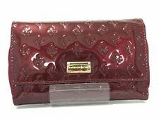 Auth PATRICK COX Bordeaux PVC Other Style Wallets