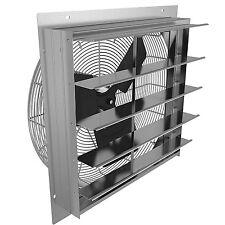 Axial Wall Shutter Fan 10in 115V Green House Factory Ventilation Blower Exhaust