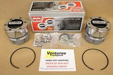 LOCKING HUBS DANA 44 GM 10 BOLT WARN STANDAR 4X4 19 SPLINE FORD JEEP DODGE CHEVY