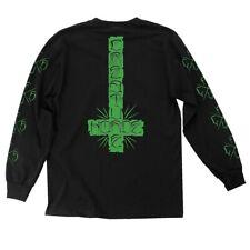 Creature Horde Cross Long Sleeve Skateboard Shirt Black Xl