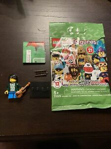 Lego Series 21 Violin Kid Collectible Minifigure #2 71029 In Baggie NEW