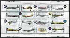Canada Stamps -Full Pane of 16 -Canadian Air Forces #1808 -MNH