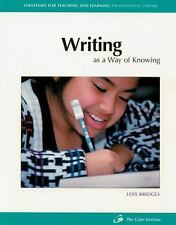 Writing as a Way of Knowing (Strategies for Teaching and Learning Professional L