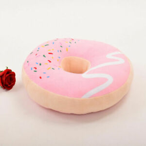 Sweet Chocolate Doughnut Pillow Doughnut Plush Toy Funny Donut Pillow Cushion